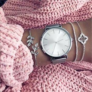 New Item✨ Silver Lux 3 pc Bracelet Set 💎